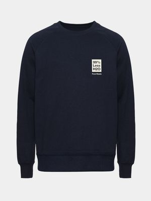 H2O Sweatshirt, Navy